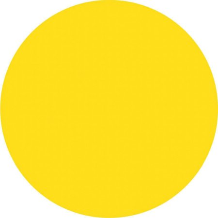 Etiqueta Redonda Amarela 15Mm. C/210 Etiquetas Grespan