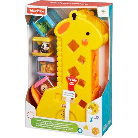 Fisher-Price Girafa Com Blocos Mattel