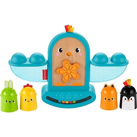 Fisher-Price Pintinho Empilhando Aprendendo Mattel