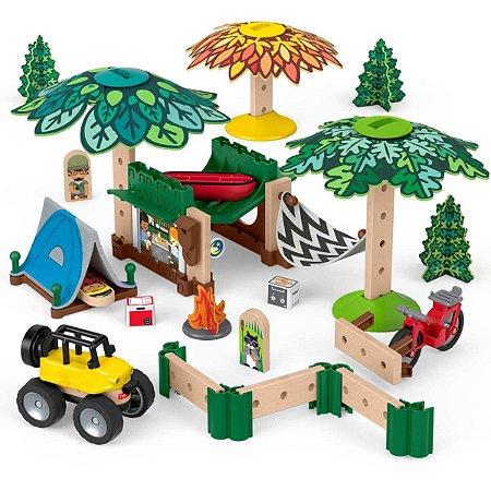 Fisher-Price Wm Acampamentos De Aventuras Mattel