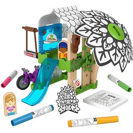Fisher-Price Wm Colorir A Casa Na Arvore Mattel