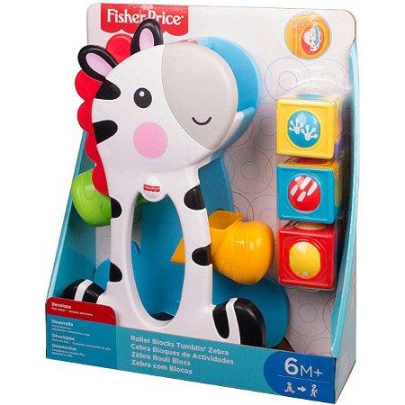 Fisher-Price Zebra Blocos Surpresa Mattel