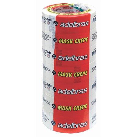 Fita Crepe 710 Mask Crepe 36Mmx50M Adelbras