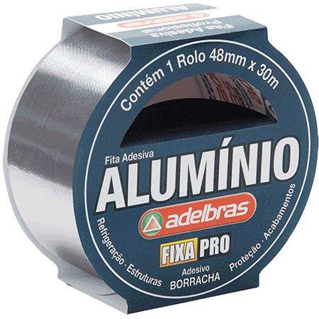 Fita De Alta Resistência Aluminium Tape 48Mmx30Mts Adelbras