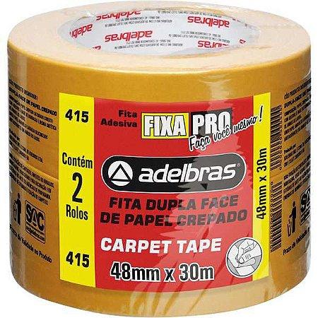 Fita Dupla Face Carpet Tape 48Mmx30M Adelbras