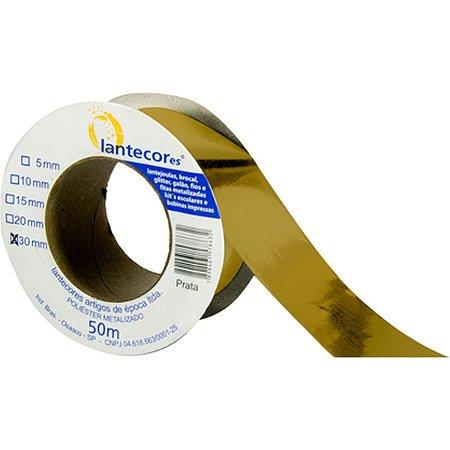 Fita Metaloide 15Mmx50Mts. Ouro Lantecor