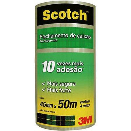 Fita Para Empacotamento Scotch 5803 Transp. 45Mmx50M. 3M