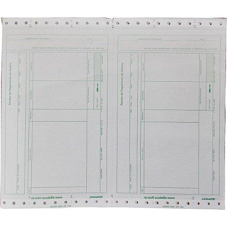 Formulario Continuo Impresso Recibo Pagto Lab02 2Vias Vd S/ Agaprint