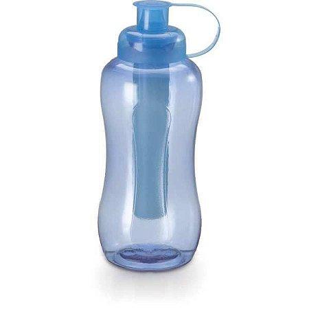 Garrafa Plastica Esporte Fresh C/tubo Gelo 550M Plasduran