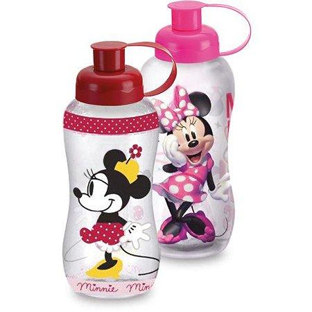 Garrafa Plastica Minnie 550Ml Pet Plasduran