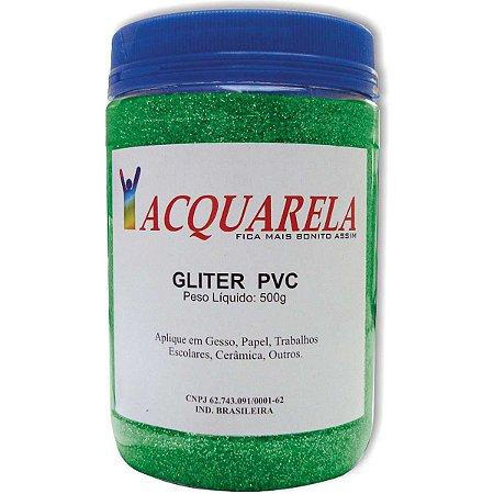 Glitter Pvc Verde 200G. Acquarela