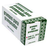 Grampo Para Grampeador 23/13 Galvanizado 5000 Grampos Acc