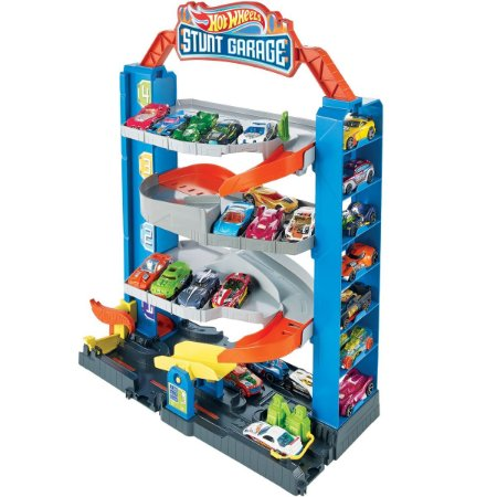 Hot Wheels Pista E Acessorio City Garagem Mattel