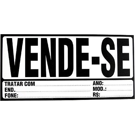Impresso Administrativo Cartaz Vende-Se 155X325Mm Tamoio
