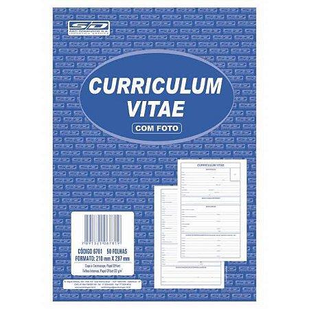 Impresso Administrativo Curriculum 50 Folhas 199X297Mm Sao Domingos