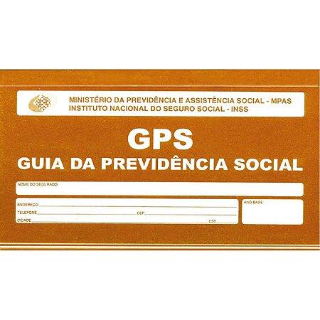 Impresso Previdencia Social Carne Gps 12X2 Vias 180X110Mm Sao Domingos