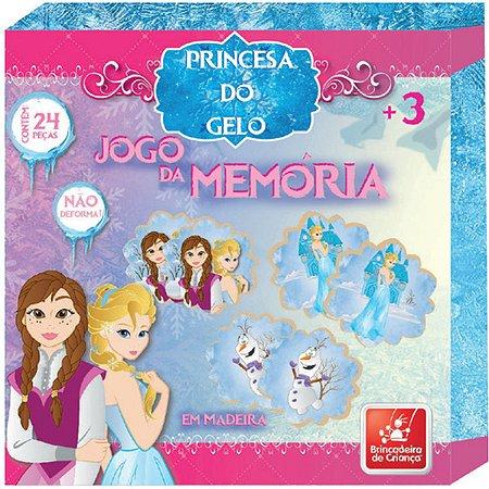 Jogo Da Memoria Princesa Do Gelo 24 Pecas Brinc. De Crianca