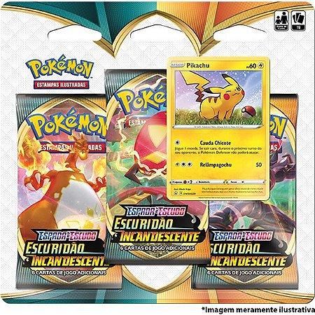 Jogo De Cartas Pokemon Espada E Escudo Escur. Copag