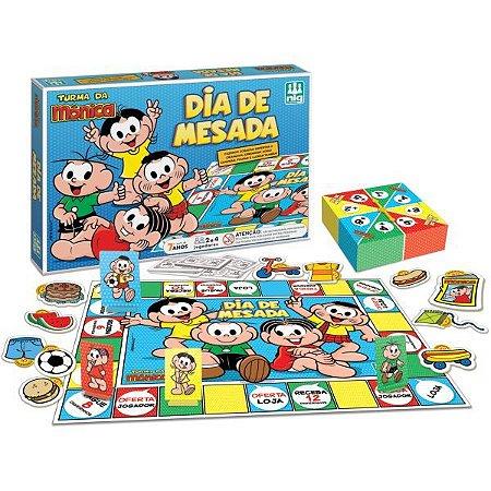 Jogo De Tabuleiro T. Da Monica Dia De Mesada Brinquedos Nig