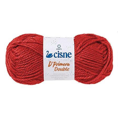 La Trico Cisne Dprimera 00330 80G. Vermelho Double Coats Corrente