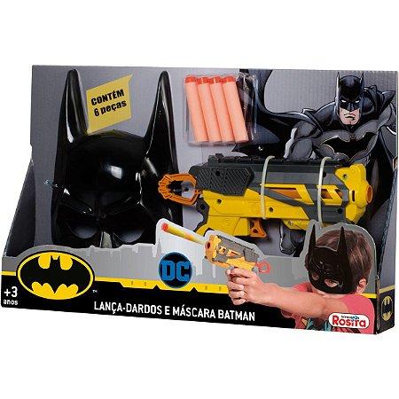 Lancador Lanca Dardos C/ Mascara Batman Baby Brink