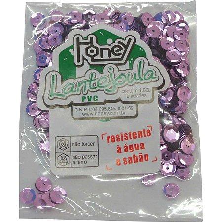 Lantejoula Metalizada Rosa Claro N.06 C/1000Un Honey