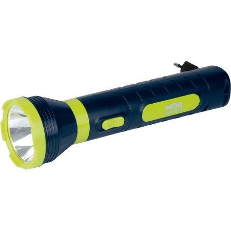 Lanterna Power Led 140 Lumens Recarrega Mor
