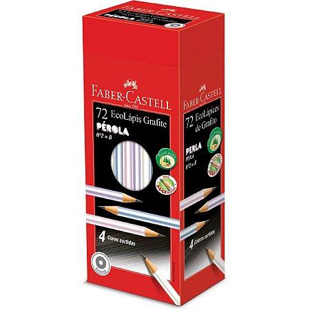 Lapis Preto Redondo Ecolapis Grafite Perola Faber-Castell