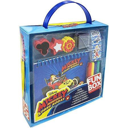 Livro Atividades Mickey Fun Box C/ades/carimb/m Dcl
