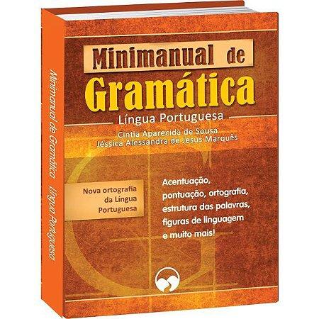 Livro Ensino Minimanual De Redacao E Gramat Vale Das Letras