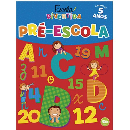 Livro Ensino Pre-Escola 48Pgs. Ciranda