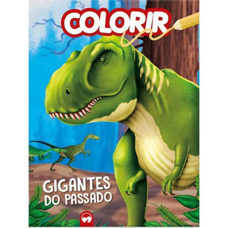 Livro Infantil Colorir Gigantes Do Passado/dinossauro Vale Das Letras