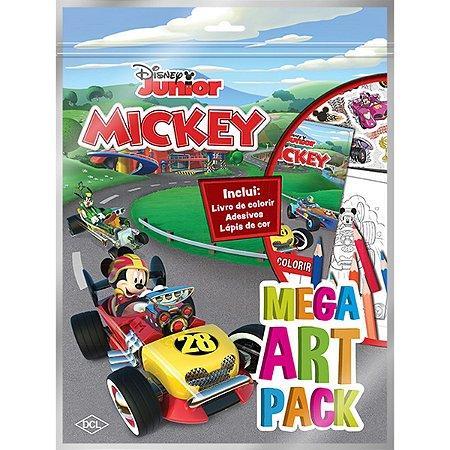 Livro Infantil Colorir Mickey Super Color Pack Dcl