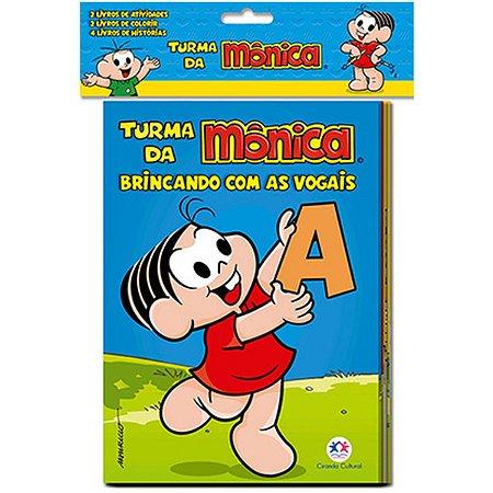Livro Infantil Ilustrado Turma Da Monica Ciranda