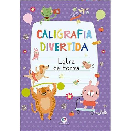 Livro Pedagogico Caligrafia Alfabeto Letra De Forma 16Pgs Ciranda