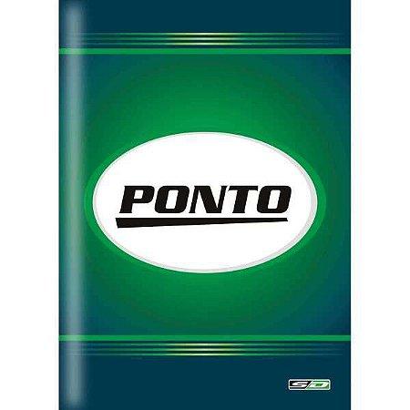 Livro Ponto 1/4 160 Folhas Sao Domingos
