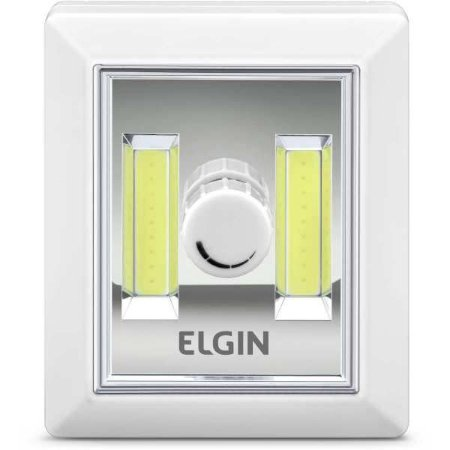 Luminarias Led Mini 3W C/botao Dimerizavel Elgin