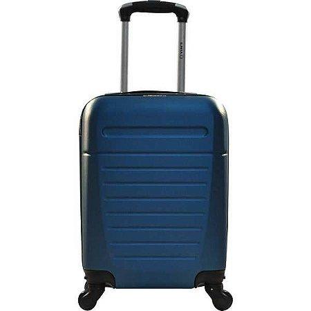 Mala De Viagem Abs Bordo 360º 18Pol Azul Yins