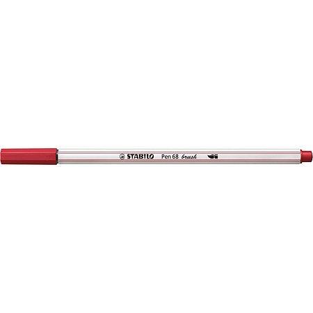 Marcador Artistico Stabilo Pen Brush 568/50 Verm. Sertic