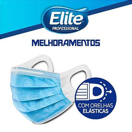 Mascara Descartavel Tripla Cirurgica Flow Pack Elite