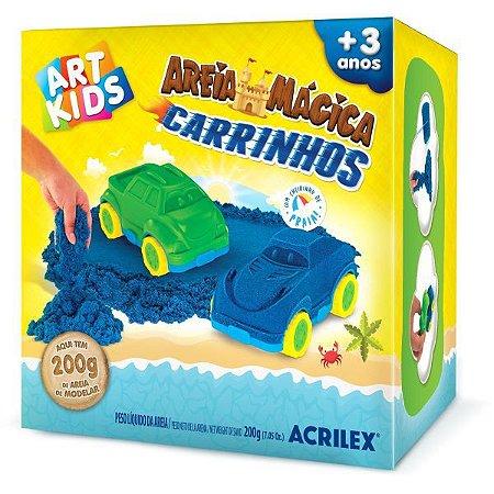 Massa Areia Carrinhos 200G Acrilex