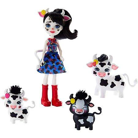 Miniatura Colecionavel Enchantimals Familia Sortiment Mattel