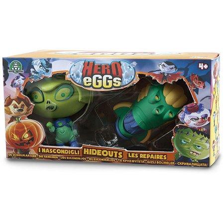 Miniatura Colecionavel Hero Eggs Playset Sortido Candide