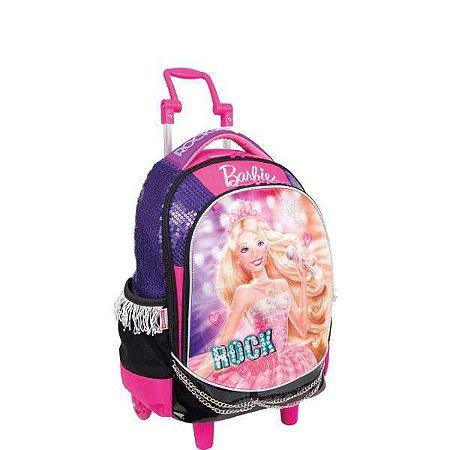 Mochila De Carrinho Barbie Rock N Royals Sortidas Sestini