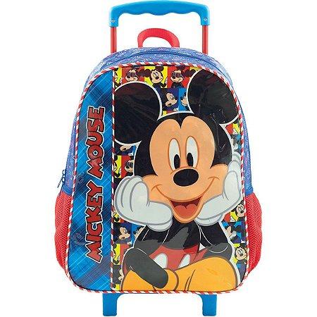 Mochila De Carrinho Mickey Mouse Selfie Xeryus