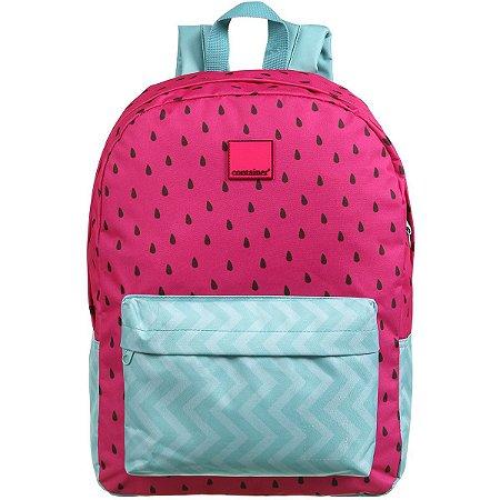 Mochila Escolar Container Pink Melancia G Dermiwil
