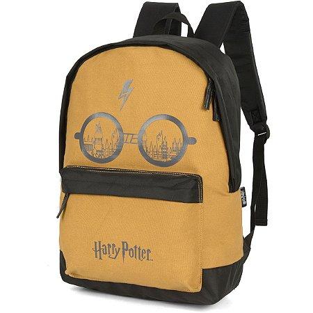 Mochila Escolar Harry Potter Gd 1Ziper Mostard Luxcel
