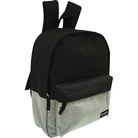 Mochila Escolar Kit Style Masc. Gd 1Bolso Sort Kit