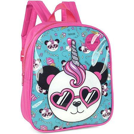 Mochila Escolar Up4You Petit Panda Pq Pink Luxcel