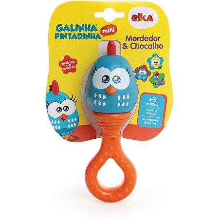 Mordedor Infantil Galinha Pintadinha Mini Chocal Elka